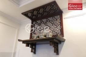 Mẫu bàn thờ treo tường đẹp - Bàn thờ chung cư đẹp