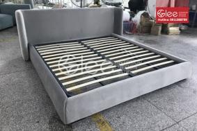 Giường ngủ bọc nệm đơn giản giá rẻ GPN48