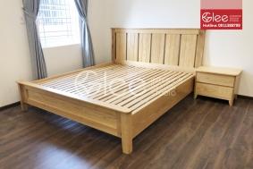 Giường ngủ gỗ Tần Bì giá rẻ - GPN44