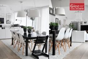 Bàn ghế ăn đẹp GBA07
