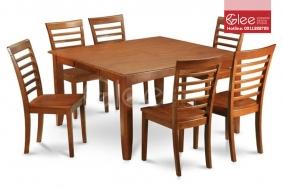 Bộ bàn ăn gỗ sồi GBA20