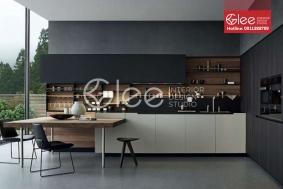 Tủ bếp đẹp GTB06 - mẫu tủ bếp hiện đại Gleehome