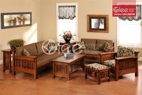 Sofa gỗ phòng khách GSG38