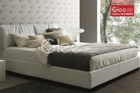 Mẫu giường ngủ đẳng cấp - Giường ngủ bọc da GPN35