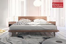 Mẫu giường ngủ gỗ óc chó cao cấp GPN39