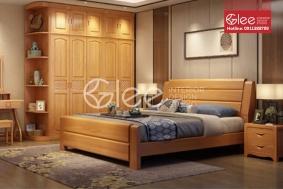 Giường ngủ gỗ tự nhiên GPN36