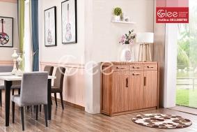 Tủ giầy gỗ óc chó hiện đại GTG01