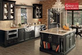 Tủ bếp gỗ sồi Mỹ đẳng cấp GTB30