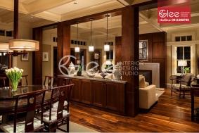 Vách ngăn phòng khách và bếp GVA28