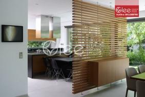 Vách ngăn phòng khách và bếp GVA25