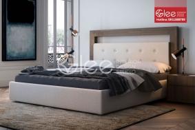 Mẫu giường ngủ bọc nỉ GPN41