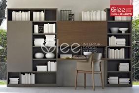 tủ kệ tủ sách gỗ tự nhiên GKS20