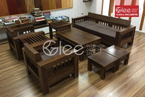Bàn ghế sofa gỗ  GSG28