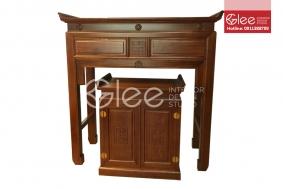 Bàn tủ thờ gỗ Gụ cao cấp - GTT42