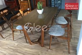 Bộ bàn ăn chung cư nhỏ giá rẻ - GBA53