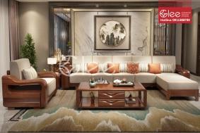 Bộ bàn ghế sofa gỗ đẳng cấp - GSG47