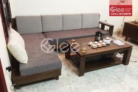 Bộ sofa gỗ sồi mỹ hiện đại GSG42