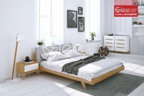 Mẫu giường ngủ gỗ sồi Mỹ GPN42