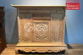 Tủ thờ đẹp gỗ gõ đỏ cao cấp - GTT33
