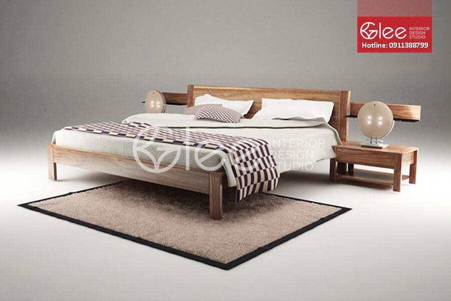 Giường ngủ gỗ óc chó GPN32