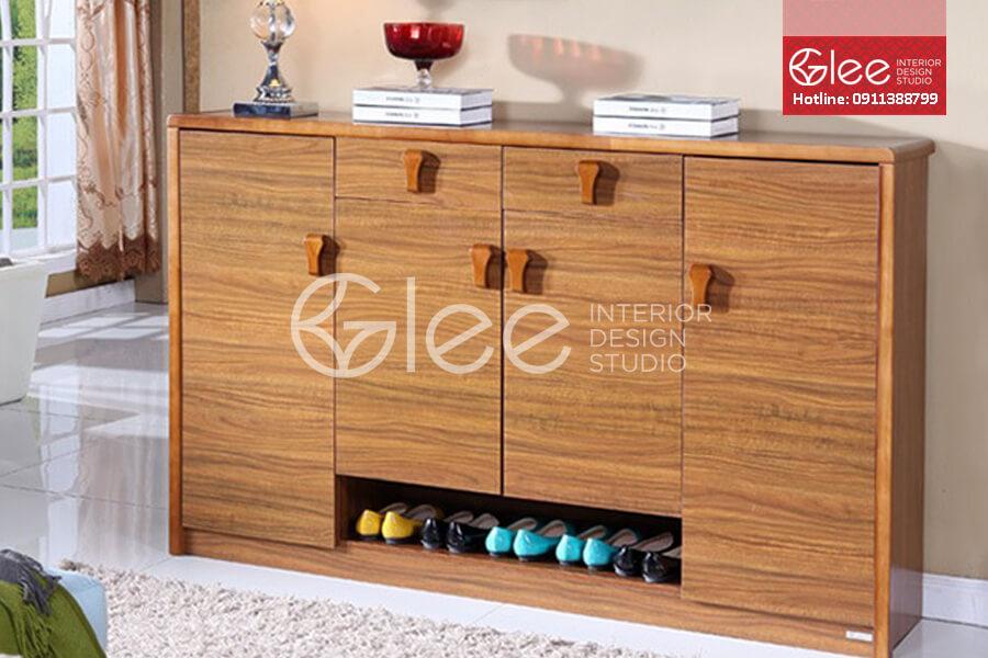 Tủ giày gỗ đẹp GTG02