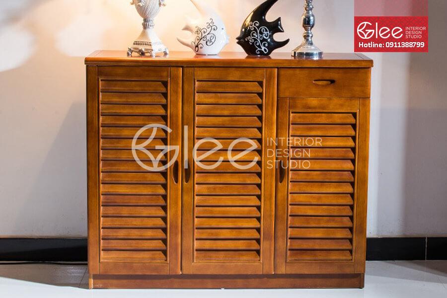 Tủ giày gỗ đẹp GTG07
