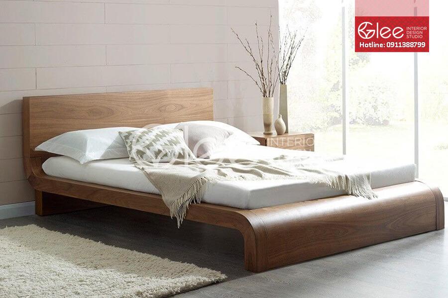 Giường ngủ gỗ óc chó GPN08