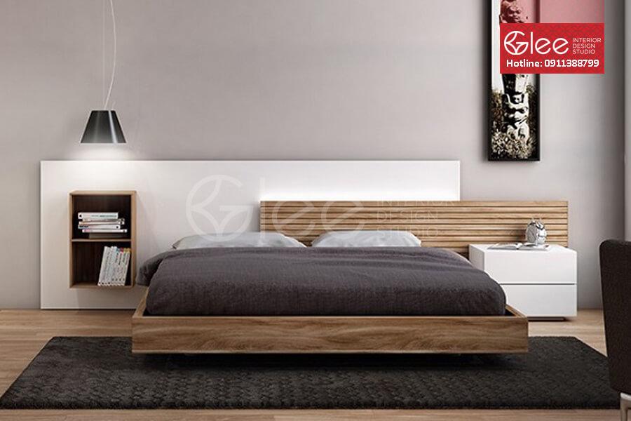 Giường ngủ gỗ công nghiệp GPN15