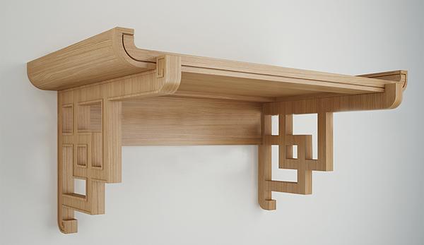 bàn thờ treo tường đẹp, kích thước bàn thờ treo tường