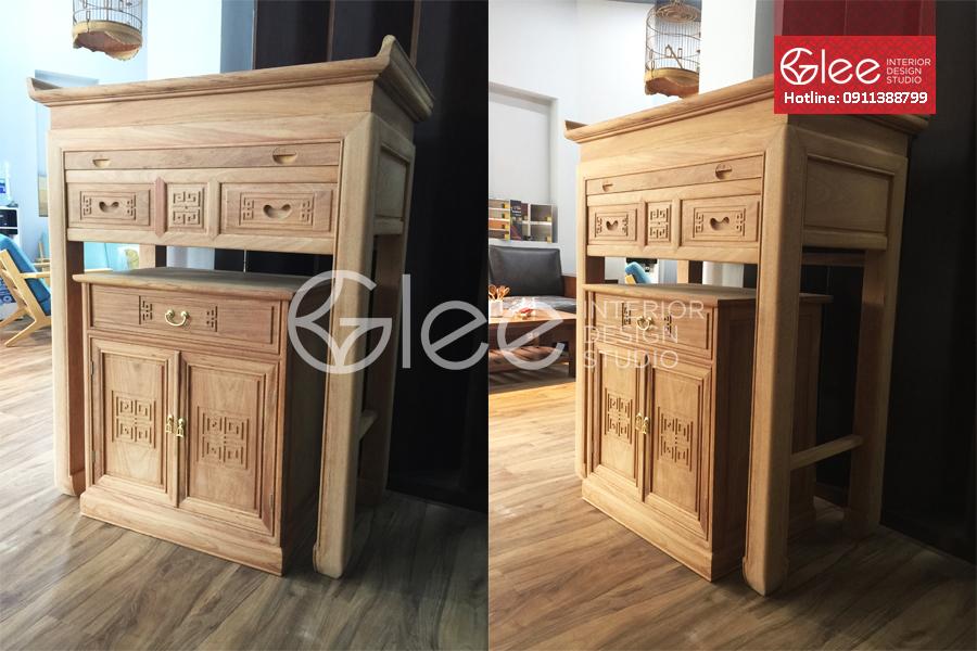 799+ Mẫu bàn thờ gỗ tự nhiên đẹp hiện đại nhất tại Hải Phòng