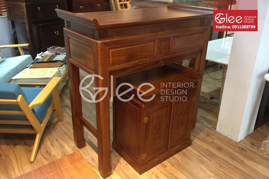 bàn thờ gỗ gụ cao cấp