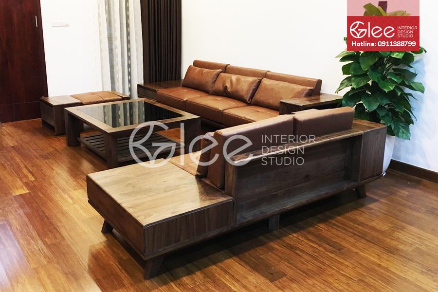 bộ ghế sofa gỗ cao cấp