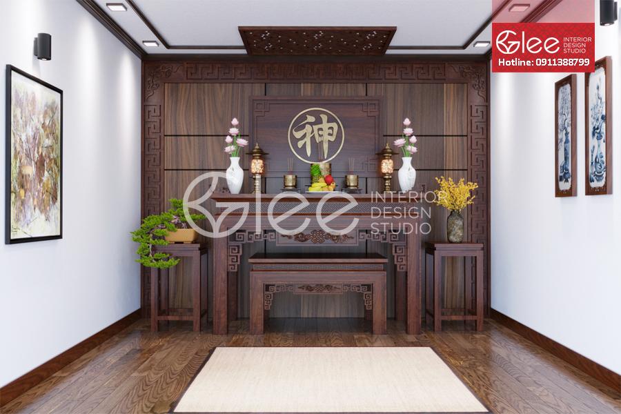 Những mẫu thiết kế phòng thờ đẹp nhất Việt Nam cho năm 2019