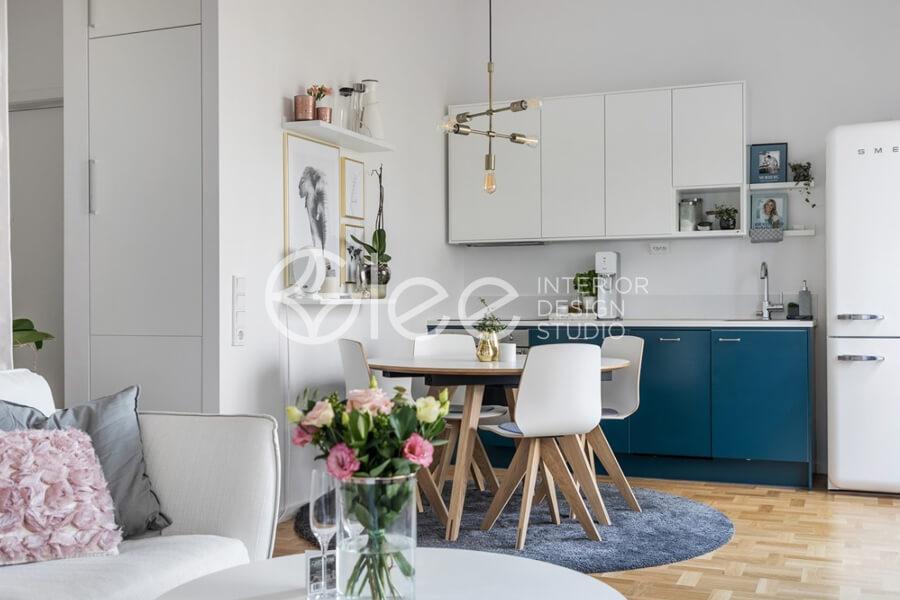 Những lưu ý tuyệt vời cho mẫu thiết kế nội thất chung cư diện tích nhỏ
