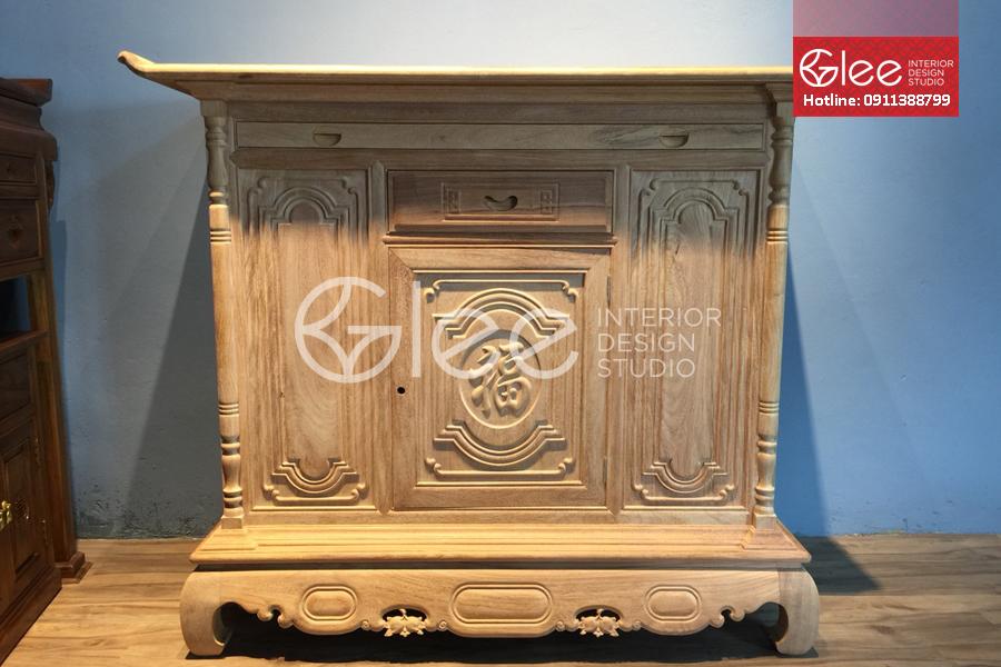 bàn thờ gỗ gõ đỏ đẹp